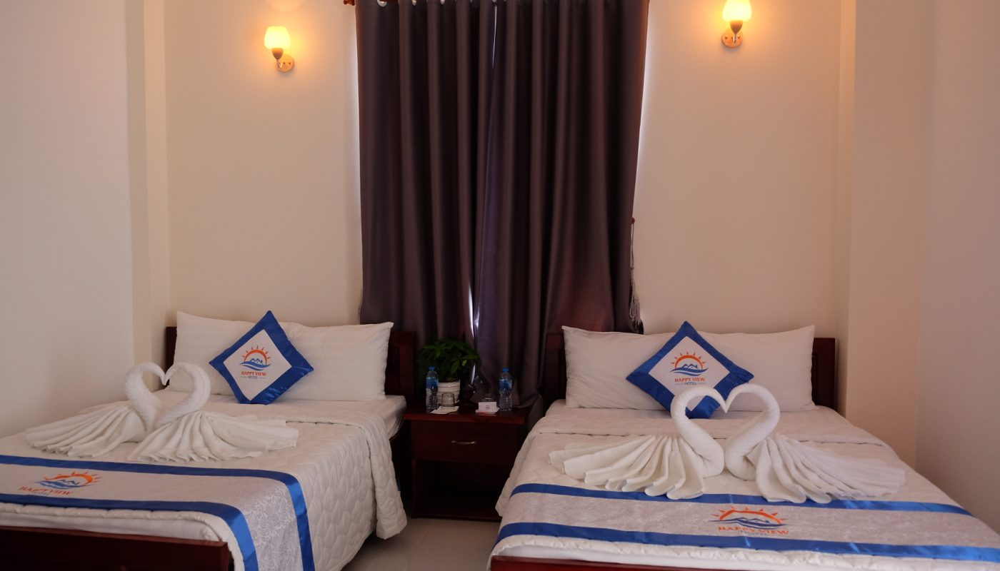 Happy View Hotel Phong 2 beds