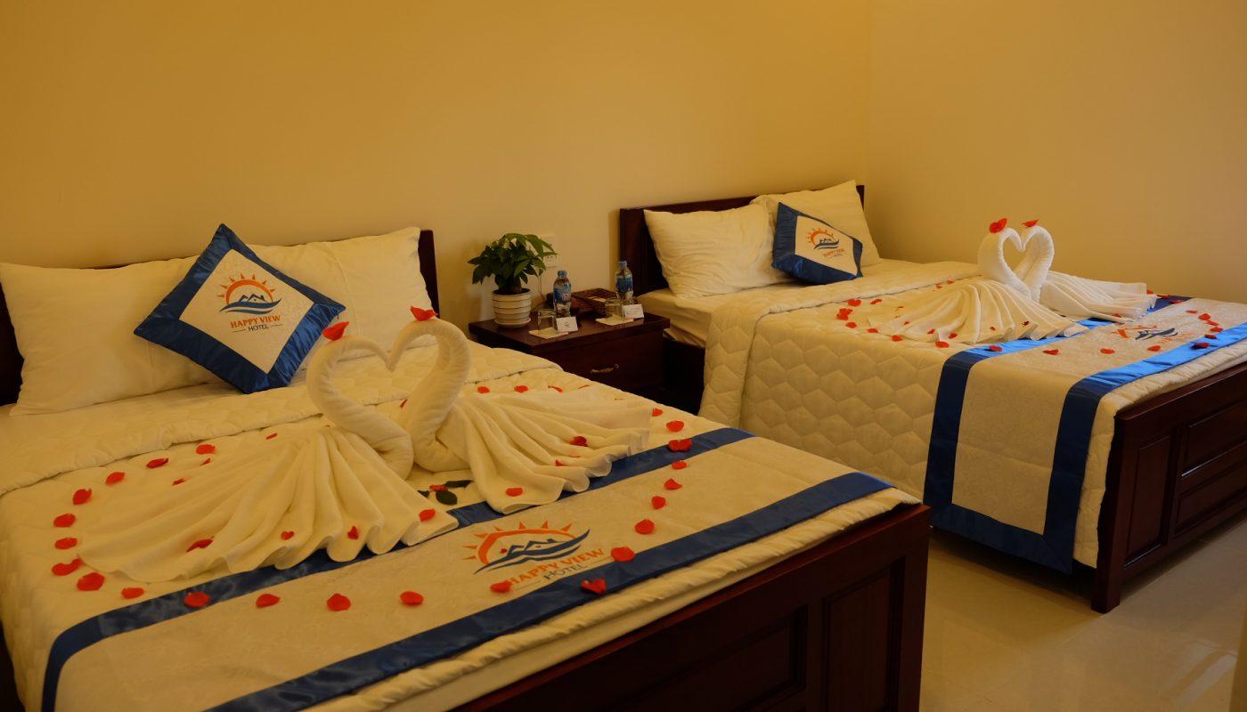 Happy View Hotel - Phong 2 giuong