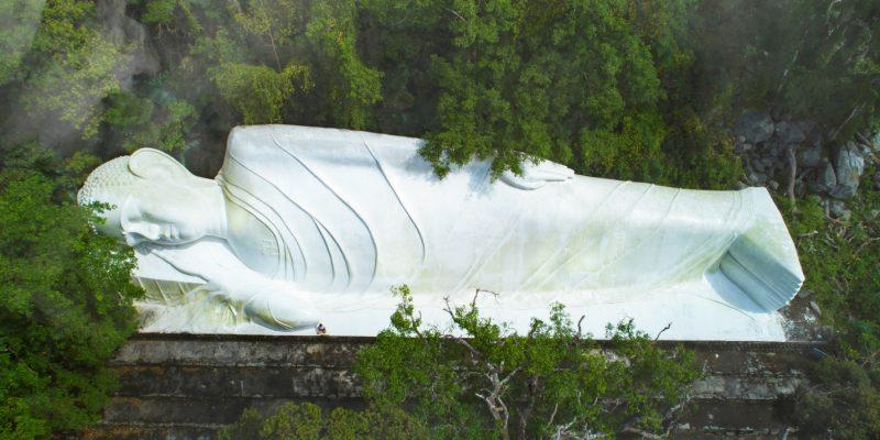 Tượng Phật nằm 49m, Núi Tà Cú